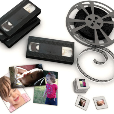 Media Conversions: Video Conversions & Photo Scanning
